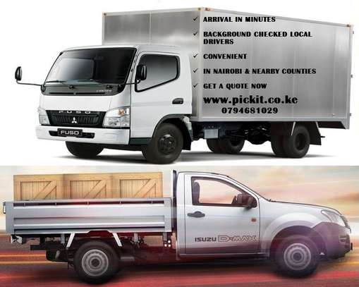 ORDER A PICKUP OR CANTER. AVAILABLE ALL-OVER NAIROBI