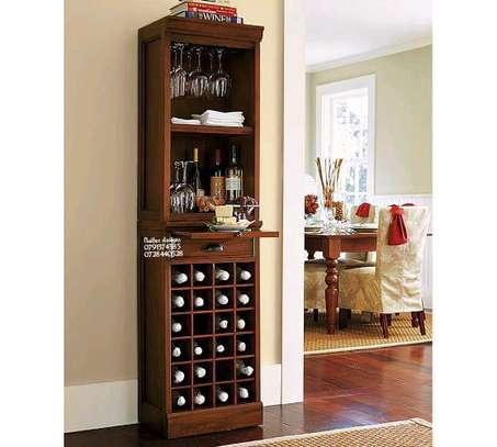 Wine rack/cabinets/shelves/classic wine shelves image 1