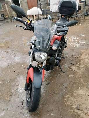 Yamaha MT07 Naked Street Warrior image 1