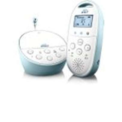 Philips Avent DECT Baby Monitor with Temperature Sensor image 1