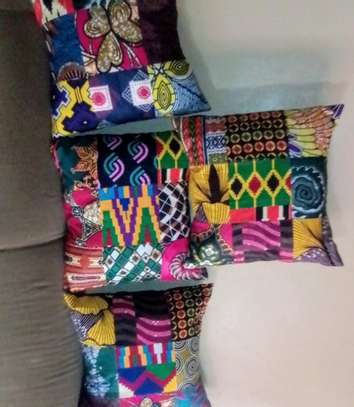Ankara Throw pillows image 2