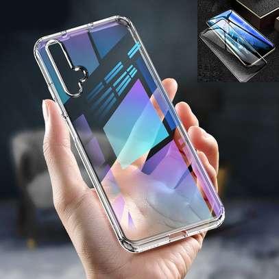 Clear TPU Soft Transparent case for Huawei Nova 5T image 2