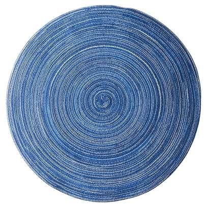 Cloth round kitchen mat image 2