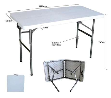 Foldable Long Tables ( New) image 5