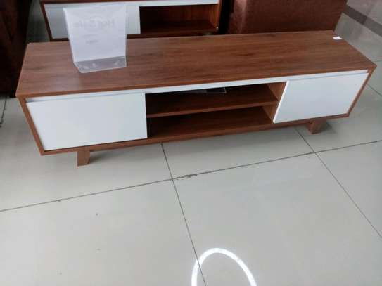Wooden TV stand image 1