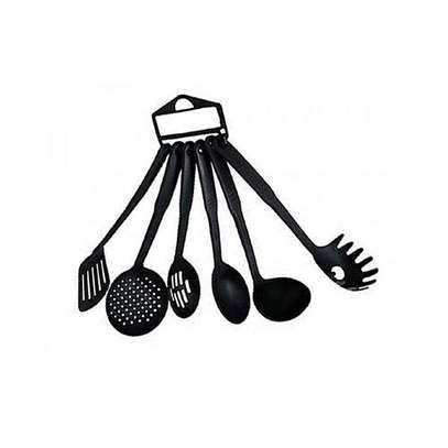 Non Stick Cooking Spoons - Set image 1