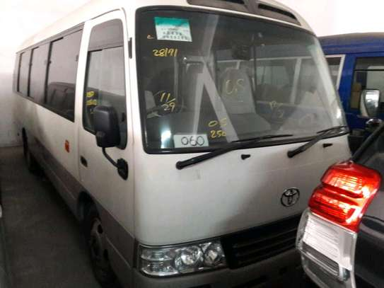 Toyota Coaster bus quick sale.