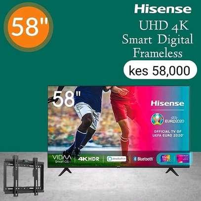 Hisense 58 Inch 4K UHD Frameless - August sale image 1