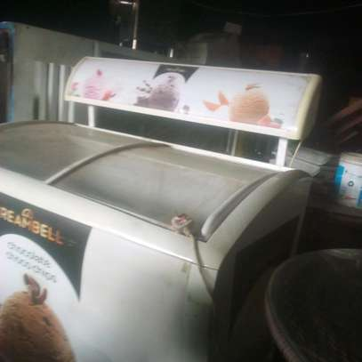 Ice cream display fridge