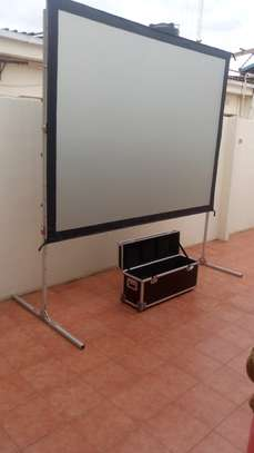"REAR SCREEN 72"" X 96"" image 1"