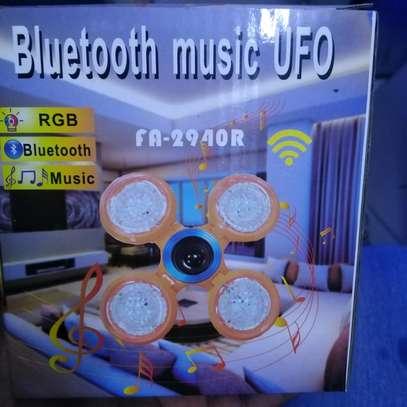 Ball shaped Bluetooth music bulb image 1