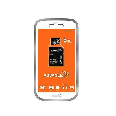 Advance 8GB - Memory Card - Black
