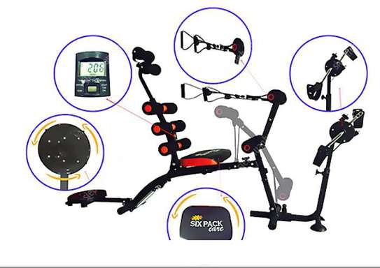 Six Pack Wonder Core with Cycle image 1