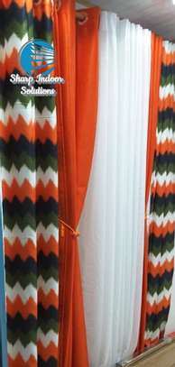 decorative double sided curtains image 2