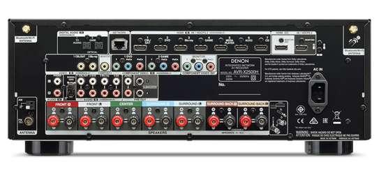 Denon AVR-X2500H 7.2 Ch. Network AV Receiver image 3