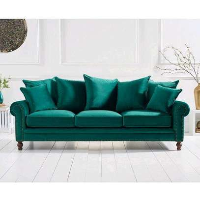 Modern Sofas/three seater sofa image 1