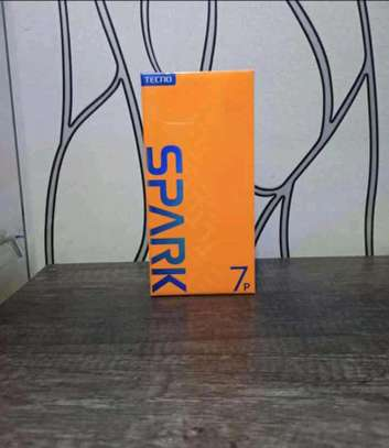 Tecno spark 7p brand new and sealed in a shop image 1