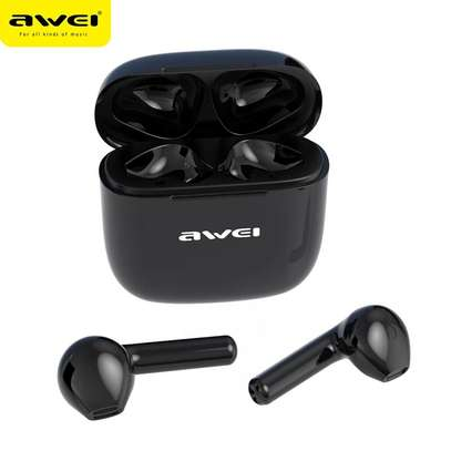 Awei T26 Wireless Bluetooth 5.0 Earphone with Charging Case Earbuds TWS headset image 3