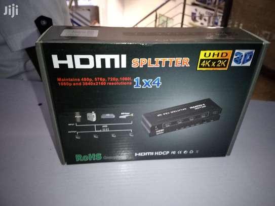 1 × 4 HDMI SPLITTER 1080p image 1