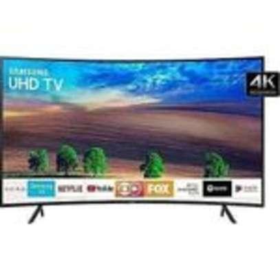 Samsung 49 Inch Curved Smart 4K UHD TV -49RU7300 - Series 7 - Black image 1
