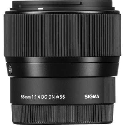 Sigma 56mm f/1.4 DC DN Contemporary Lens for Sony E image 2