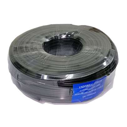 rj59 coaxial cable 100m with power image 1