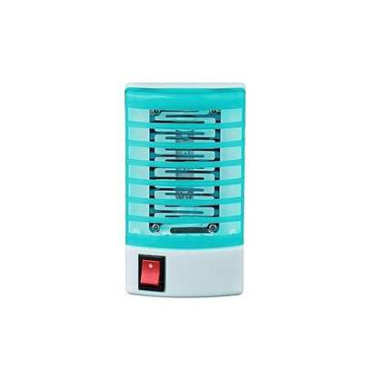 Mosquito Fly Bug Insect Zapper LED Electric Killer Night Lamp - Blue image 1