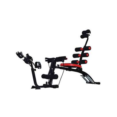 Wonder Core Multifunction Abdominal Six Pack Care Bench With Pedals image 1