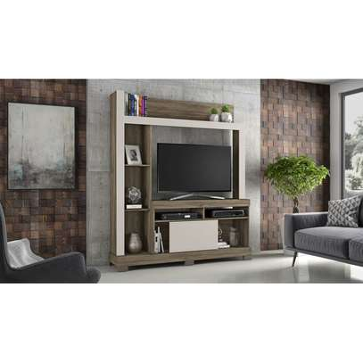 TV Wall Unit Rack Bela NT1025 - TV space up to 43'' - CINNAMON/SAND image 3