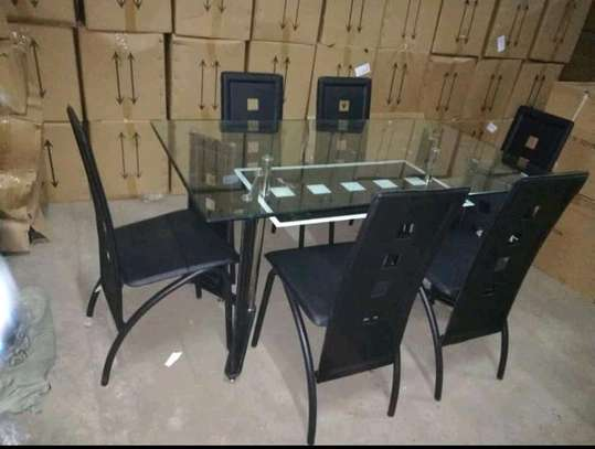 6 seaters Dining set. image 1