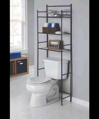 over the toilet bathroom storage organizer image 6