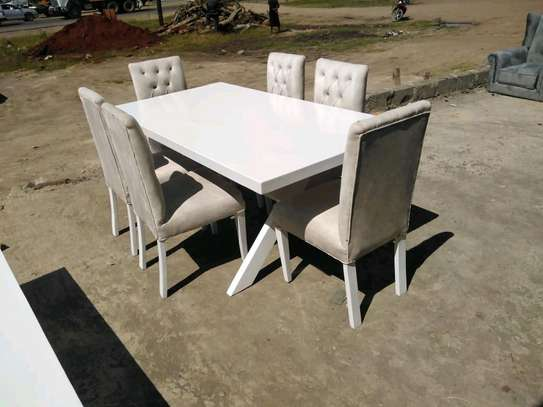 Six seater dining table/dining set/executive dining set image 1