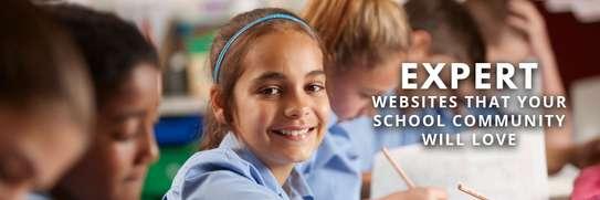 College   School Website Design image 1