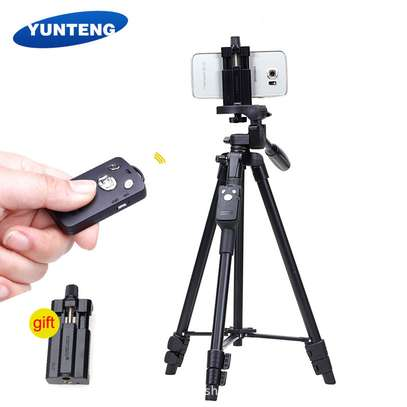 Tripod YUNTENG VCT-5208 Bluetooth Remote Controller For Mobile Phone image 5