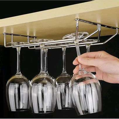 Stainless Steel Wine glass holder image 1