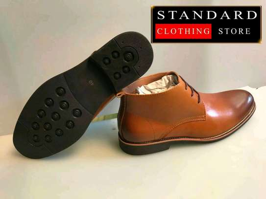 PURE ITALIAN LEATHER SHOES WITH RUBBER SOLE image 11