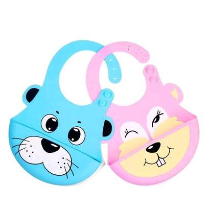Soft Silicone Baby Bibs image 2