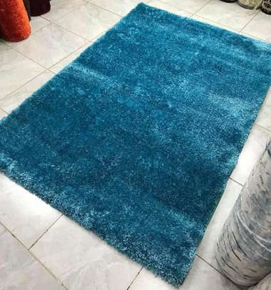 Blue Turkish soft carpets image 1