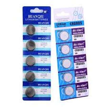 3 Volt Lithium Coin Battery model CR2025 [5 pack] image 1