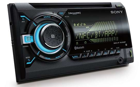 Sony WX-900BT Double DIN NFC Bluetooth image 1
