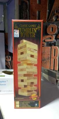 Jenga Tumblin Tower Classic Game image 1