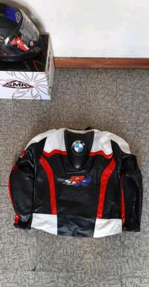 BMW Cowhide Leather Motorcycle Jackets image 2