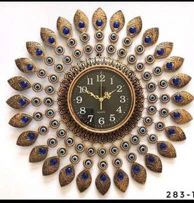 peacock Wall clock image 2