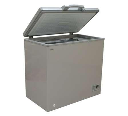 MIKA Deep Freezer, 150L, Silver Grey image 1