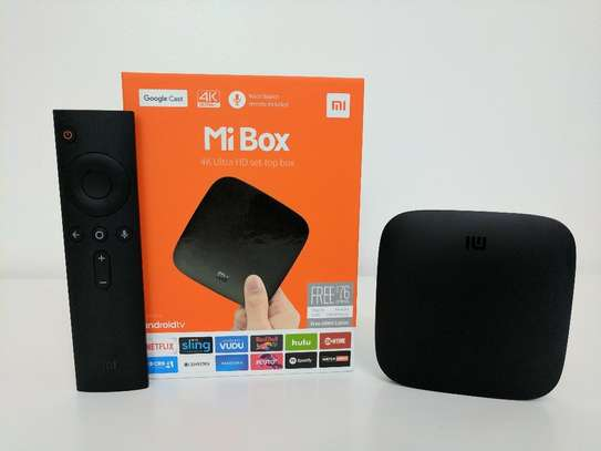 Xiaomi Mi Box - 4K Ultra HD Set-Top Box / Android TV Box with Bluetooth Voice Controlled Remote image 2