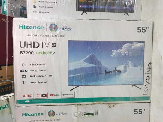 Hisense 55inch smart android  tv