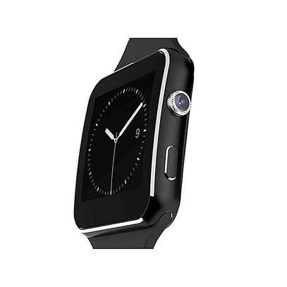 Smart Watch X6 Sleek Smartwatch Watch Phone For Android - Black image 3
