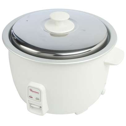 RICE COOKER+STEAMER 3.6 LITERS WHITE image 1