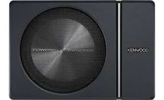 """Kenwood KSC-PSW8 Compact Powered 8"""" Subwoofer"""