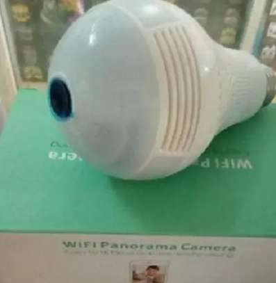 360 Degree Nanny Bulb Camera, Panoramic image 1
